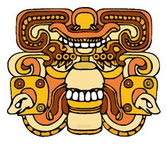 The Maya Empire for Kids - Cities (the Maya were master builders) - lines for soutache Henna Designs, Blackwork, Mayan Glyphs, Mayan History, Psychedelic Experience, Culture Day, Weaving For Kids, Mexica, Elements Of Art
