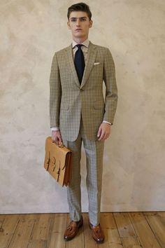 「ダンヒル」2015年春夏ロンドンメンズ スーツ復調を確信させる2種類のジャケット   2015 SS LONDON MEN'S COLLECTION   DUNHILL   COLLECTION   WWD JAPAN.COM