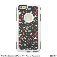 Shop OtterBox Commuter iPhone Plus Case created by dap_zazzle. 6s Plus Case, Synthetic Rubber, Apple Iphone 6, Protective Cases, Phone Cases, Products, Gadget, Phone Case