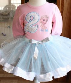 Elsa Frozen Disney moviegirls 2ndcan also do by TutuCutebyChristyB, $52.00