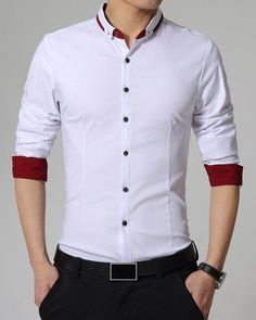 Cheapest and Latest women & men fashion site including categories such as dresse. - Men's style, accessories, mens fashion trends 2020 Mens Designer Shirts, Designer Suits For Men, Indian Men Fashion, Mens Fashion Wear, Formal Shirts For Men, Collar Shirts, Shirt Style, Outfit, Men Dress