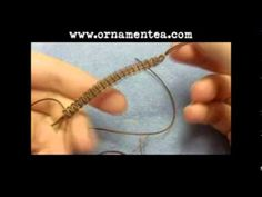 Everyone always comes into the store asking about this macrame technique, good video!