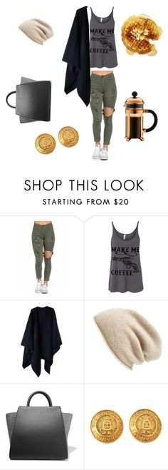 """Sunday brunch"" by lmarie0925 ❤ liked on Polyvore featuring Acne Studios, Halogen, ZAC Zac Posen, Chanel, Bodum, women's clothing, women's fashion, women, female and woman"