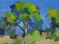 View Pine Tree at Frauques July Study 2 by Philip Richardson