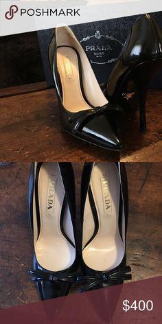 Black Prada pumps Brand new. From Neiman Marcus Walnut Creek.  Size 39 1/2. Prada Shoes Heels