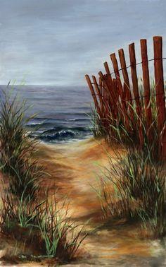 Beach Path | Mobile Artwork Viewer