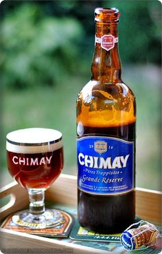 One of my top fave brews. Chimay Grande Réserve  |  Belgian Strong Dark Ale  |  9% ABV  |  Belgium