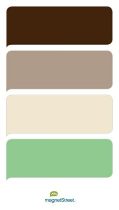 green nude brown cafe colour combo palette for the bedroom