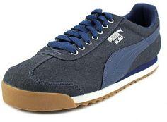 9132ee046 Puma Roma Waxed Denim Men US 7 Blue Sneakers. Zapatillas De Deporte  AzulesZapatillas ...