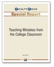 Free and applicable to m/s and high school also: Teaching Mistakes from the College Classroom - Faculty Focus | Includes:  Establishing Credibility with Students: * It Doesn't Happen Automatically  * Don't Assume a Student's Previous Knowledge  * When Expectations Collide  * If I Tell Them, They Will Learn