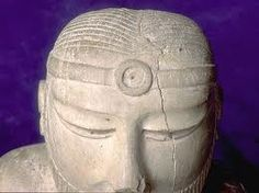 Statue of the high priest of the Indus River Valley.