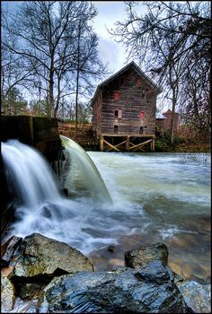 Kymulga Mill & Falls by outsideshot, via Flickr
