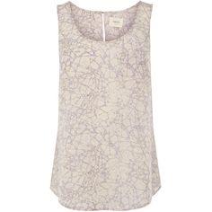 OASIS Batik Pocket Vest ($33) ❤ liked on Polyvore