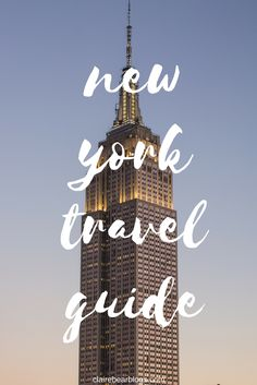 Just because you visited New York City once or twice doesn't mean you've seen the whole city. Check out this travel guide for your next visit to New York City.