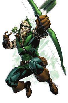 Seta verde por spidermanfan2099