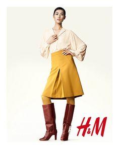 H&M enlists Liu Wen and Edita Vilkeviciute