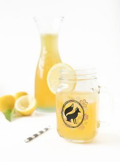 Lemonade a couple ways by @Melissa : The Fauxmartha [This recipe screams SUMMER! Try with #FairTrade agave & sugar!]