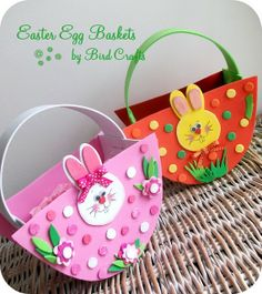 Paper plate easter basketi am going to try this one with my diy easter baskets negle Choice Image