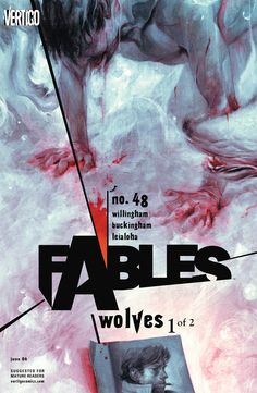 comixology:  The Big Bad Wolf AKA Bigby ala Fables covers by...