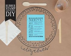 DIY Tutorial | Dinner Party Place Mats