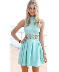 Pleated Prom Dresses, Blue A-line/Princess Prom Dresses, Short Blue Prom Dresses, Modest Blue Short Prom Dresses,Cute A Line Junior Homecoming Dresses Prom Dresses Blue, Trendy Dresses, Dance Dresses, Cute Dresses, Party Dresses, Dress Prom, Prom Gowns, Gowns 2017, Sleeveless Dresses