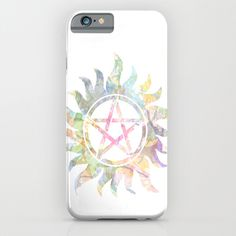 Supernatural Anti-possession Symbol case - LOVE