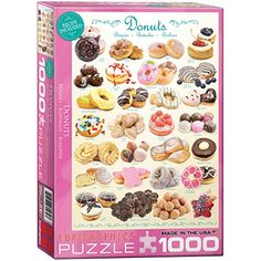 Donuts 1000-Piece Puzzle