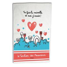 Torchon Des amoureux