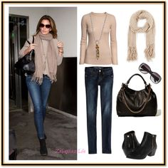 Celebrity Inspiration-Cindy Crawford by zabardastlife featuring super skinny jeans
