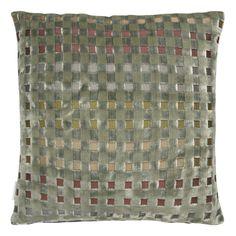 Parterre Sage Throw Pillow design by Designers Guild