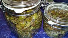 Olive snocciolate condite