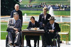 The Americans with Disabilities Act of 1990 (ADA) is a law that was enacted by the U.S. Congress in 1990. It was signed into law on July 26, 1990, by President George H. W. Bush