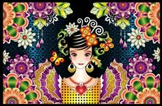 Spanish Girl (345 pieces)