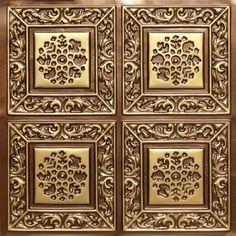 Antique Gold Ceiling tiles