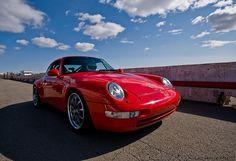 Porsche 993 - Red