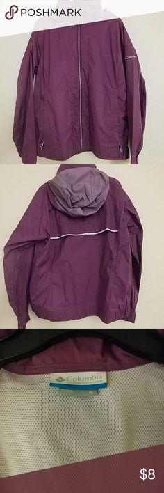 Columbia Rain Jacket Gently used XL Columbia Rain Jacket Columbia Jackets & Coats
