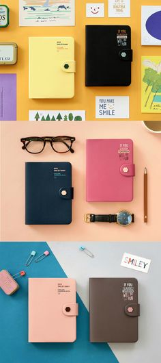 Plan and record your days in 2018! The 2018 Smiley Scheduler includes very cute and colorful plan pages which will make you want to write all the important things throughout the year! It also features many awesome details for your convenience, like 2 card slots, 2 ribbon bookmarks, and well-bounded pages!