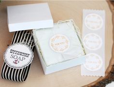 'for you' stickers to close tissue paper