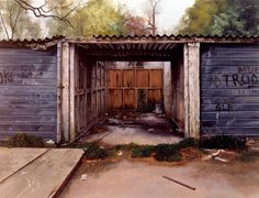 George Shaw artist - Norton Safe Search Urban Landscape, Landscape Art, Safe Search, City Art, Architecture, House Styles, Personal Investigation, Aqa, Outdoor Decor