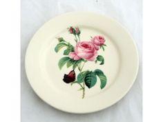 Dezertní talíř - růže   - Kliknutím zvětšíte