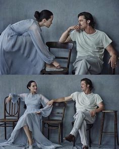 "Angelina Jolie & Brad Pitt photographed by Peter Lindbergh for Vanity Fair Italy, November Another ""happily never after "" story. But still, awesome photos."
