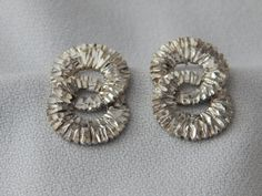 Vintage Sterling Silver Earrings by AlwaysPlanBVintage on Etsy