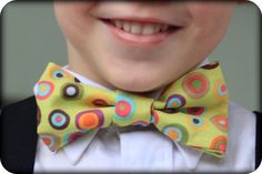 How to make a Clip on Bow Tie Tutorial