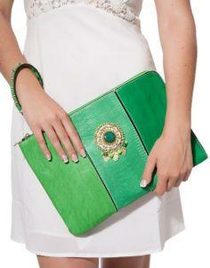Green Evening Clutch