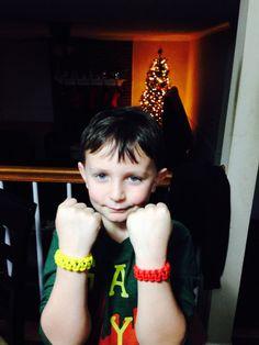 G with para cord bracelets 2014