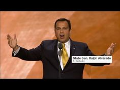Ralph Alvarado Speech at Republican National Convention (7-20-16) Ralph ...