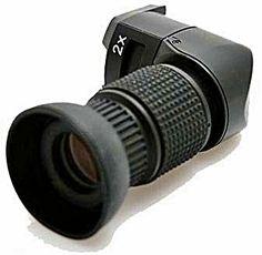 Walimex Visor em Ângulo Recto Universal c/ Ampliação – Laboratório Fotográfico