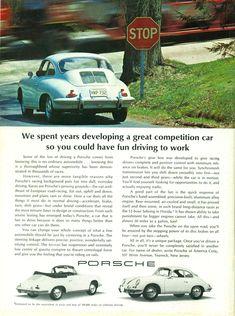 Porsche ad