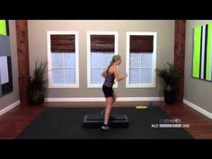 Step aerobics routines with Jenni 60 Minutes Thigh Toning Exercises, Toning Workouts, Exercise Workouts, Exercise Plans, Workout Tips, Fitness Workouts, Step Aerobics, Aerobics Workout, Step Up Workout