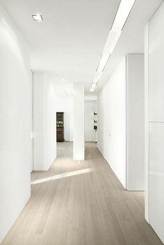flooring with grey walls grey wash wood floors * white walls Maple Hardwood Floors, Wash Floors, House Design, Grey Walls, Flooring, White Rooms, House Flooring, White Wood Floors, White Walls